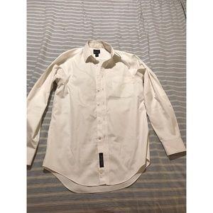Men's Joseph A Banks white dress shirt